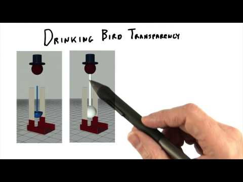 Drinking Bird Transparency - Interactive 3D Graphics thumbnail