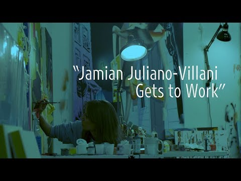 "Jamian Juliano-Villani Gets to Work | Art21 ""New York Close Up"" thumbnail"