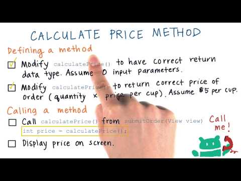 Use Return Value from Method - Solution thumbnail