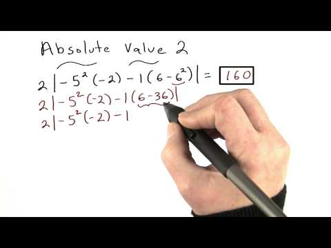 Absolute Value Practice 2 - Visualizing Algebra thumbnail