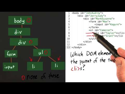Visualizing the DOM Solution - Intro to jQuery thumbnail