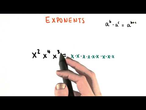 Sum of Exponents - College Algebra thumbnail