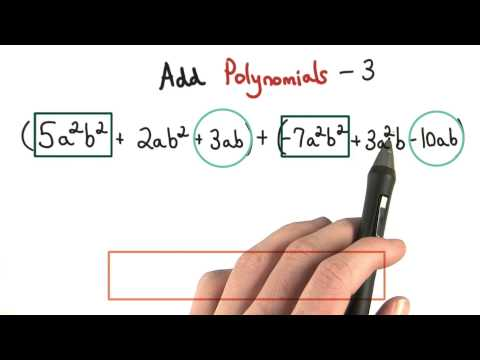 Add Polynmials Practice 3 - Visualizing Algebra thumbnail