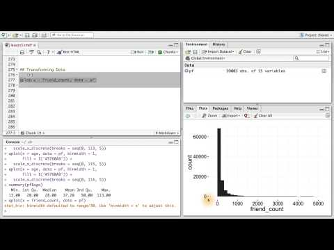 Transforming Data - Data Analysis with R thumbnail