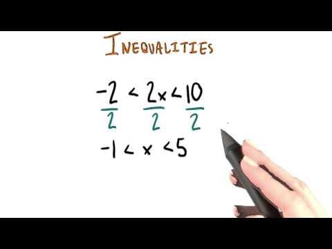 Inequalities - College Algebra thumbnail