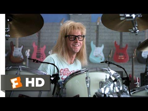 Wayne's World (5/10) Movie CLIP - Garth Likes to Play (1992) HD thumbnail