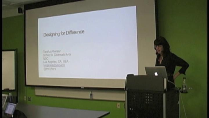 Tara McPherson: Scholarship In and Beyond the Database