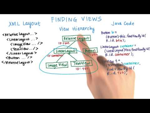 Finding Views findViewById() - Developing Android Apps thumbnail