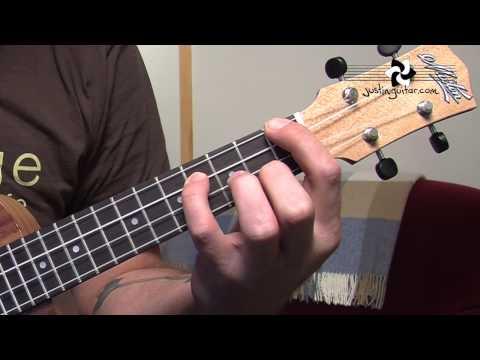 Ukulele Lesson 3 - Uke Open Chords: A Amin A7 D Dmin D7 E Emin E7  (UK-003) thumbnail