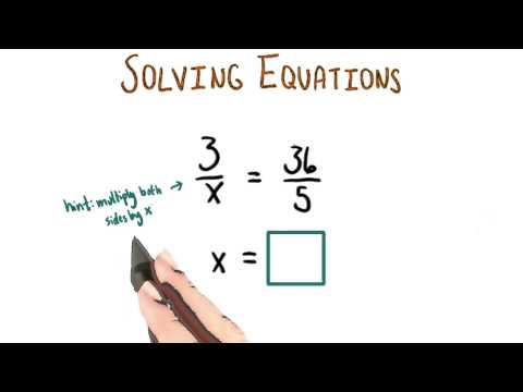 Solving with x in the Denominator - College Algebra thumbnail