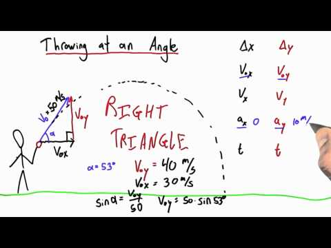 04-27 Initial Velocity at an Angle thumbnail