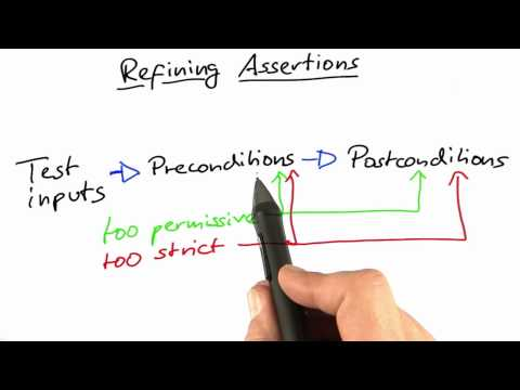 Refining Assertions - Software Debugging thumbnail