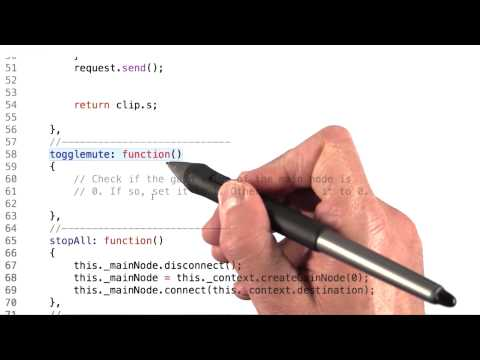 Muting Sounds - HTML5 Game Development thumbnail
