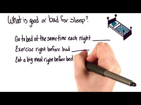 Good or bad for sleep thumbnail