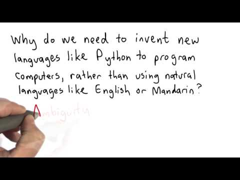 Language Ambiguity - Intro to Computer Science thumbnail