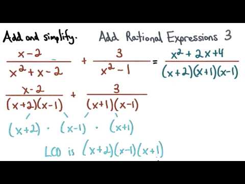 Add Rational Expressions Practice 3 - Visualizing Algebra thumbnail
