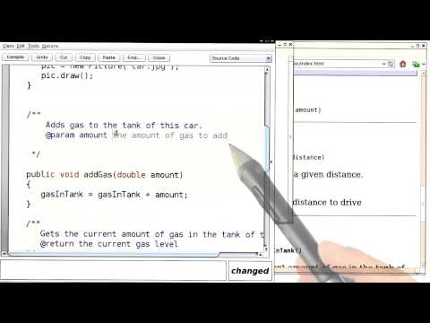 Commenting the Public Interface Part 1 - Intro to Java Programming thumbnail