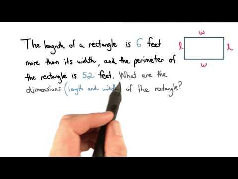 Perimeter Equation - Visualizing Algebra thumbnail
