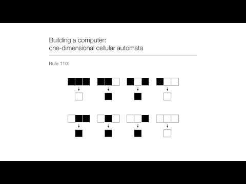 Computation in Complex Systems : Computation Everywhere : Cellular Automata thumbnail