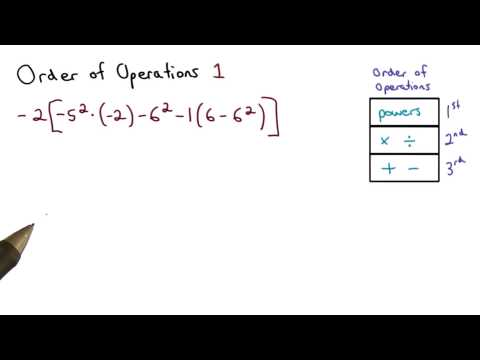 Order of Ops Practice 1 - Visualizing Algebra thumbnail