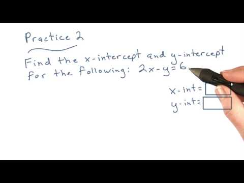 Intercepts Practice - Visualizing Algebra thumbnail