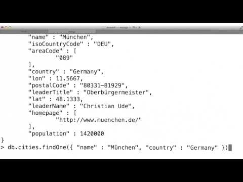 Set Unset - Data Wranging with MongoDB thumbnail