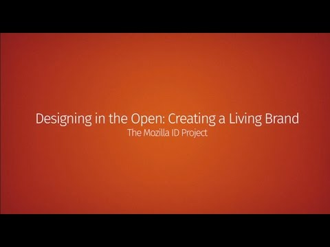 Designing in the Open: Creating a Living Brand thumbnail
