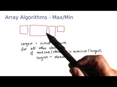 Array Algorithms Max and Min - Intro to Java Programming thumbnail