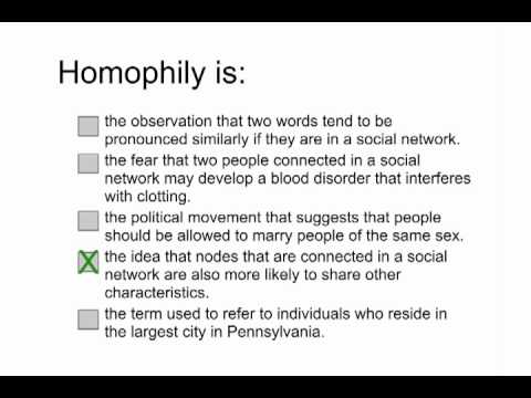 Homophily Solution - Intro to Algorithms thumbnail