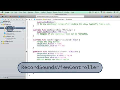 Renaming ViewController - Intro to iOS App Development with Swift thumbnail