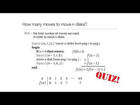 Computation in Complex Systems : Easy & Hard : Divide & Conquer Quiz thumbnail