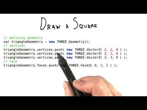 Creating Geometry in three.js thumbnail