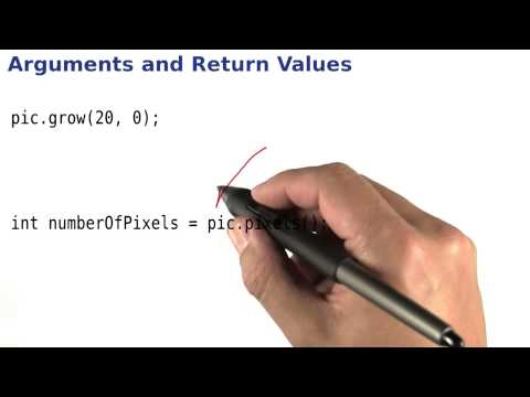 Arguments and Return Values - Intro to Java Programming thumbnail