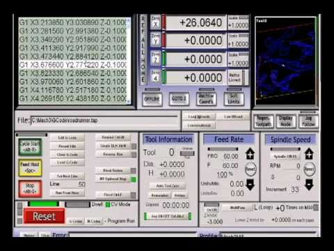 MACH 3 CNC CONTROL SOFTWARE TUTORIAL 2 THE INTERFACE with subtitles