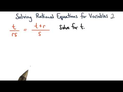 Solving Equations for Variables Check 2 - Visualizing Algebra thumbnail