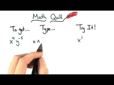 Math Quill Exponents - Visualizing Algebra thumbnail