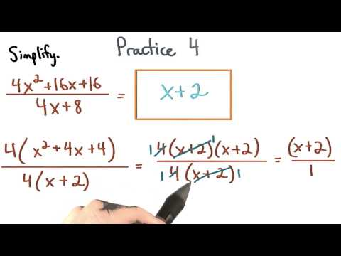 Simplify Rational Expressions Practice 4 - Visualizing Algebra thumbnail
