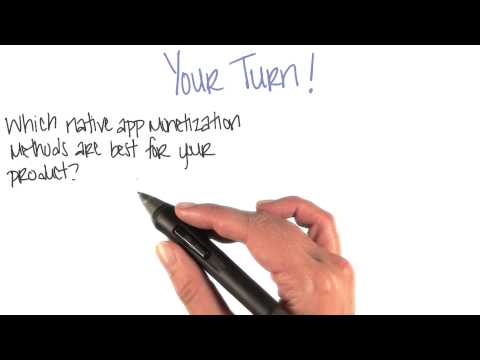 Monetize Native Apps  Monetization Strategies  App Monetization  Udacity thumbnail