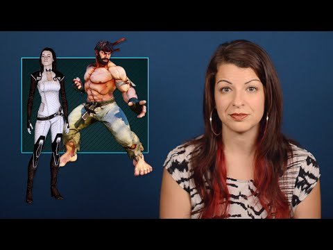 Body Language & The Male Gaze - Tropes vs Women in Video Games thumbnail