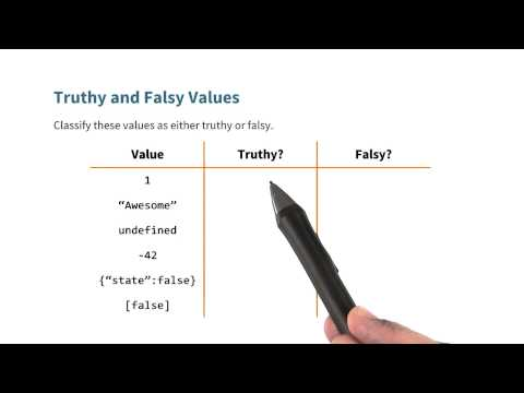 Truthy vs Falsy Quiz - JavaScript Basics thumbnail