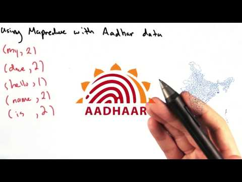 MapReduce with Aadhaar Data - Intro to Data Science thumbnail