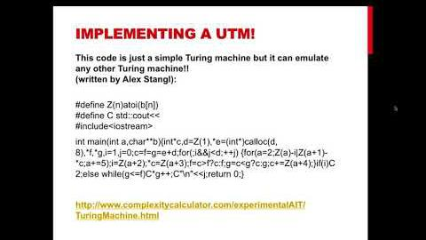 3.8 The Halting Problem and Turing Universality thumbnail