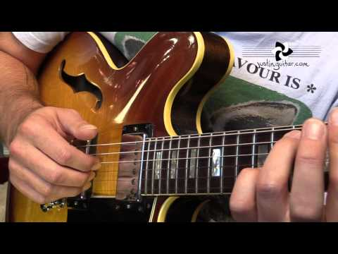 Basic Bossa Nova pattern, Jazz Basics (Guitar Lesson JA-009) thumbnail