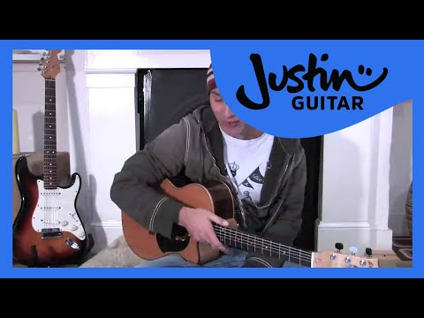 Foot tapping (Guitar Lesson BC-126) Guitar for beginners Stage 2  thumbnail