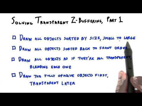 Solving Transparent Z-Buffering thumbnail