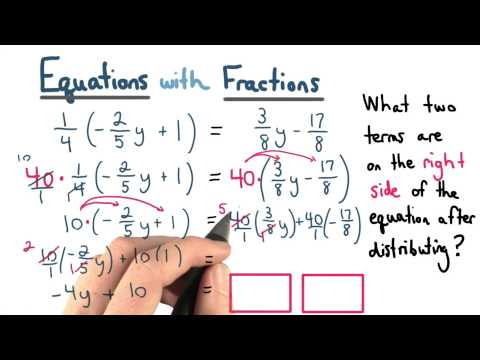 Clearing Fractions - Visualizing Algebra thumbnail
