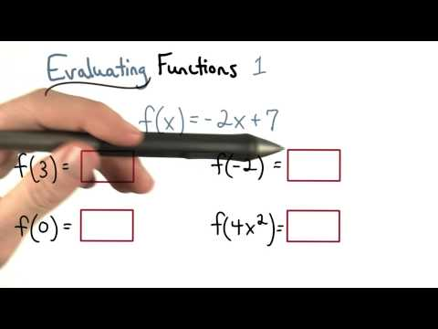 Evaluate Functions 1 thumbnail