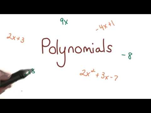 Exponents and Polynomials thumbnail