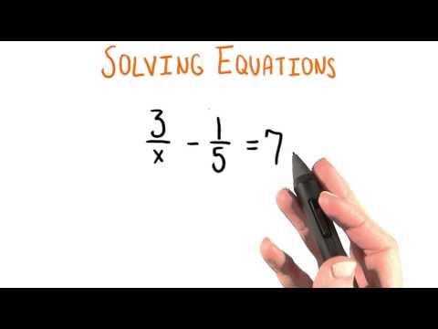 Denominator x - College Algebra thumbnail