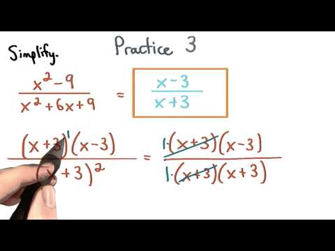 Simplify Rational Expressions Practice 3 - Visualizing Algebra thumbnail